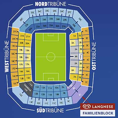 Hsv Stadion Plan
